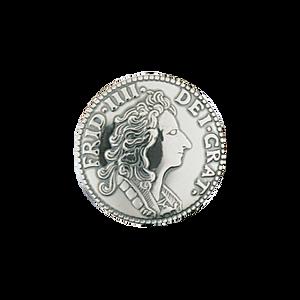Bilde av Myntknapp stor, oksidert